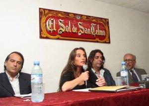 Representantes del GCBA, Cliba, y la comunidad de San Telmo en nuestra segunda mesa redonda sobre la basura (abril 2008)