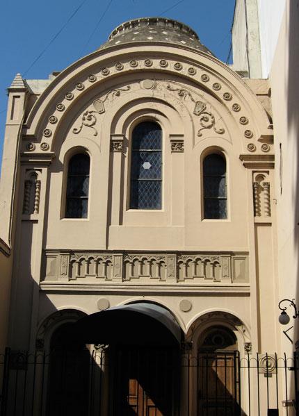 La sinagoga de la calle Piedras