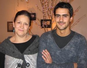 Alicia Lenta y Martín Olivera, dueños de Origen Bar
