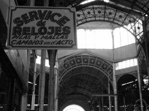 Relojería en el Mercado Foto: Alberto Martínez